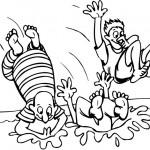 כולם קופצים לבריכה!