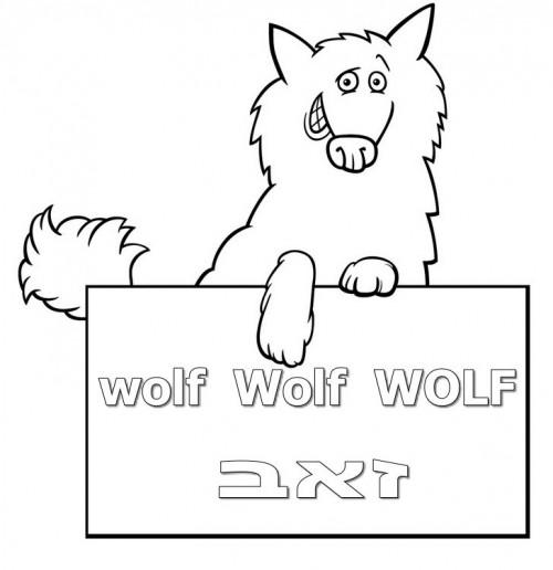 איך אומרים זאב באנגלית
