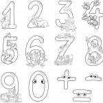 למידת מספרים עם צבע
