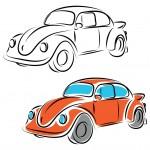 מכונית בימבה לצביעה לילדים