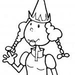 פייה חמודה בעלת כובע מחודד