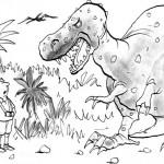 דינוזאור גדול מפחיד משפחה