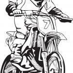 אופנוע מרשים ומהיר לצביעה