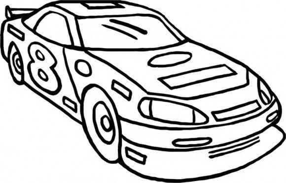 דפי צביעה מכוניות מירוץ מגניבה במיוחד אותה תוכלו לצבוע כתאוות נפשכם.