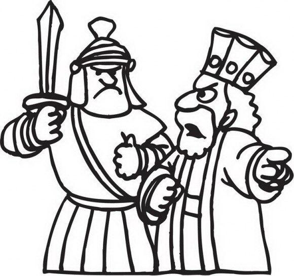מגוון רחב של דפי צביעה לחנוכה עם אנטיוכוס מלך היוונים על חיילו לתקוף את החשמונאים, אותם תוכלו לצבוע לכבוד החג.