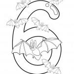הספרה שש עם עטלפים